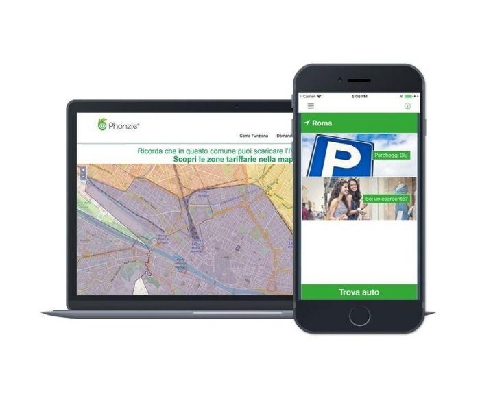 Phonzie: l'app per la mobilità urbana