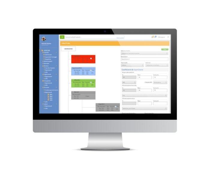 Piattaforma per contabilizzazione energetica